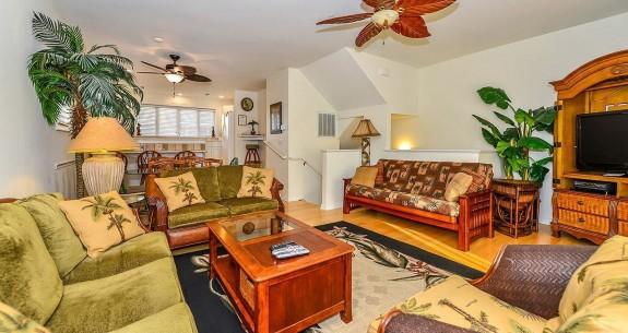 Tamarindo 1 Living Room