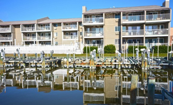 Ocean City bay water condo