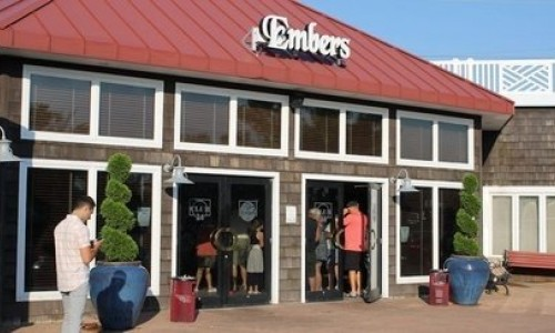 Entrance of Ember's Restaurant
