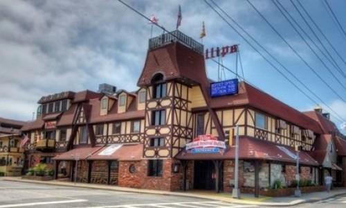 Exterior of Philip's Seafood Restaurant
