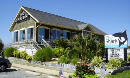 Shark on The Harbor Restaurant Exterior