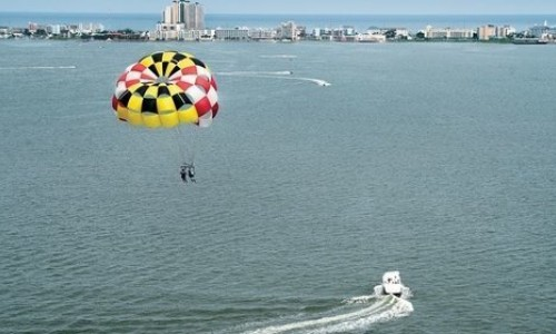Maryland flag Parasail in Bay