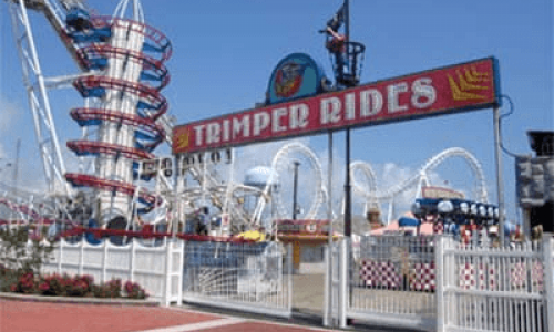 Trimper Rides Amusement park entrance